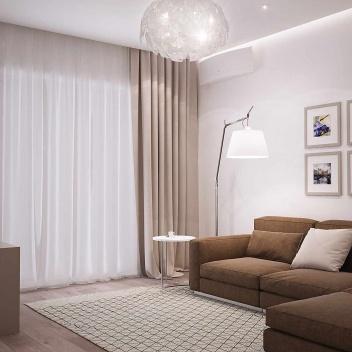 Белая квартира на Гайдара