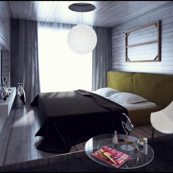 Квартира в Рушевилл в стиле лофт